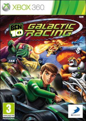 Copertina del gioco Ben 10: Galactic Racing per Xbox 360