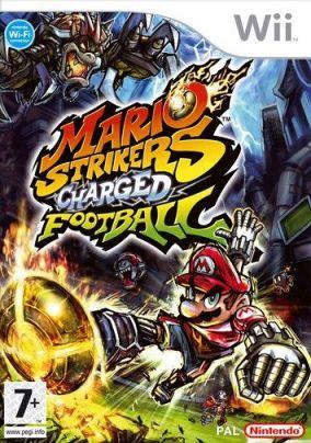 Immagine della copertina del gioco Mario Strikers Charged Football per Nintendo Wii