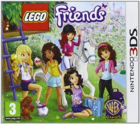 Immagine della copertina del gioco LEGO Friends per Nintendo 3DS