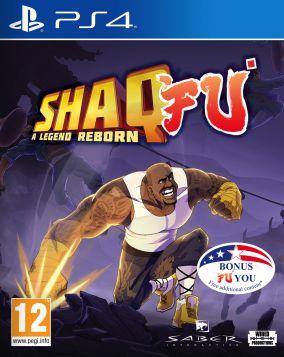 Copertina del gioco Shaq Fu: A Legend Reborn per Playstation 4