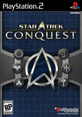 Copertina del gioco Star Trek: Conquest per PlayStation 2