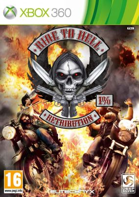 Copertina del gioco Ride to Hell: Retribution per Xbox 360