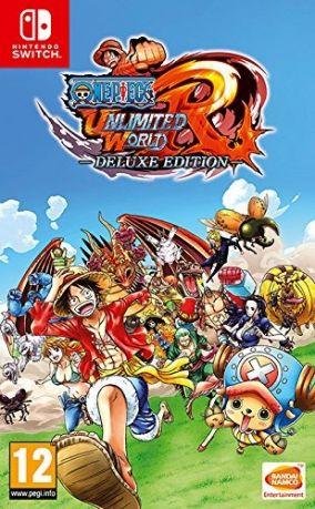 Copertina del gioco One Piece Unlimited World Red - Deluxe Edition per Nintendo Switch