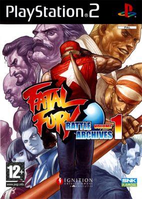 Copertina del gioco Fatal Fury: Battle Archives Volume 1 per PlayStation 2