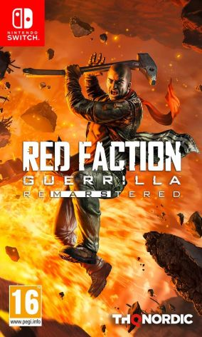 Copertina del gioco Red Faction Guerrilla Re-Mars-tered per Nintendo Switch