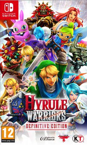 Immagine della copertina del gioco Hyrule Warriors Definitive Edition per Nintendo Switch