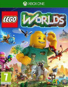 Immagine della copertina del gioco LEGO Worlds per Xbox One
