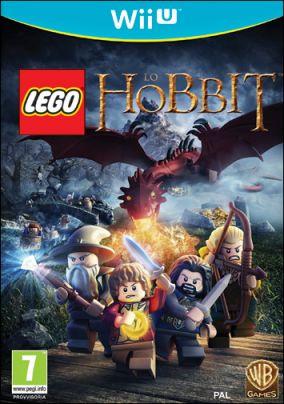 Copertina del gioco LEGO Lo Hobbit per Nintendo Wii U