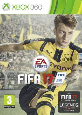 Immagine della copertina del gioco FIFA 17 per Xbox 360