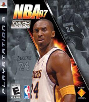 Copertina del gioco NBA 07 per PlayStation 3