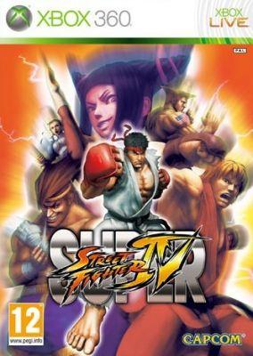 Immagine della copertina del gioco Super Street Fighter IV per Xbox 360