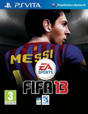 Immagine della copertina del gioco FIFA 13 per PSVITA