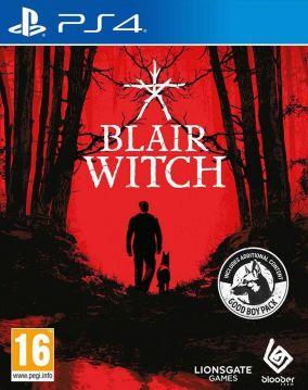 Copertina del gioco Blair Witch per PlayStation 4