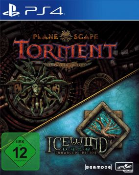 Copertina del gioco Planescape: Torment & Icewind Dale Enhanced Edition per PlayStation 4