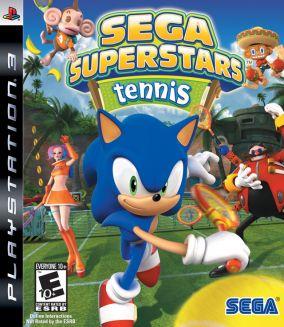Copertina del gioco Sega Superstars Tennis per PlayStation 3
