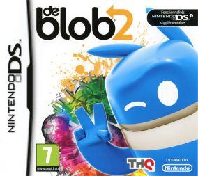 Immagine della copertina del gioco de Blob 2 per Nintendo DS