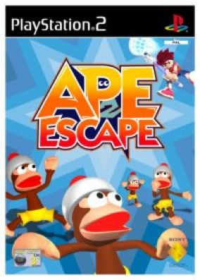 Immagine della copertina del gioco Ape escape 2 per PlayStation 2
