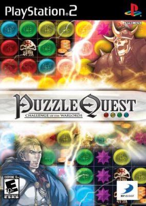 Immagine della copertina del gioco Puzzle Quest: Challenge of the Warlords per Playstation 2