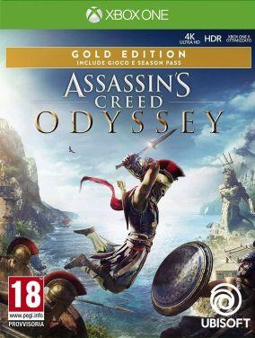 Copertina del gioco Assassin's Creed Odyssey per Xbox One