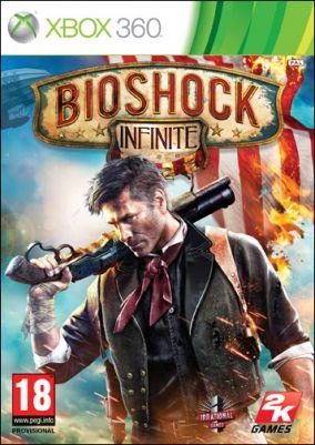 Copertina del gioco Bioshock Infinite per Xbox 360