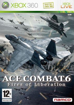 Immagine della copertina del gioco Ace Combat 6: Fires of Liberation per Xbox 360