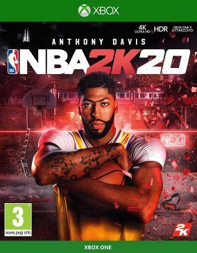 Immagine della copertina del gioco NBA 2K20 per Xbox One
