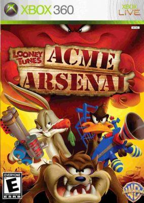 Copertina del gioco Looney Tunes: Acme Arsenal per Xbox 360