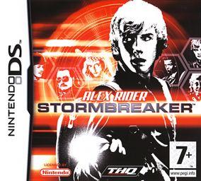 Immagine della copertina del gioco Alex Rider: Stormbreaker per Nintendo DS