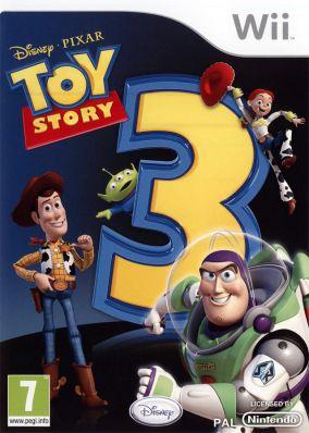 Immagine della copertina del gioco Toy Story 3 per Nintendo Wii