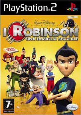 Copertina del gioco I Robinson: Una Famiglia Spaziale per PlayStation 2