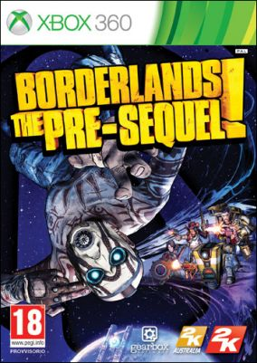 Immagine della copertina del gioco Borderlands: The Pre-Sequel per Xbox 360