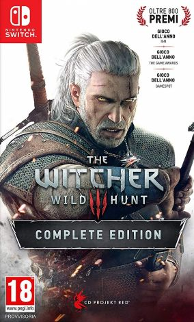Copertina del gioco The Witcher 3: Wild Hunt per Nintendo Switch