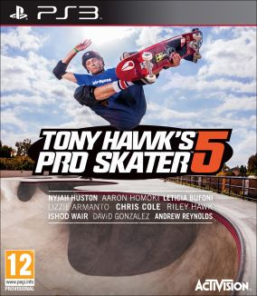 Copertina del gioco Tony Hawk's Pro Skater 5 per PlayStation 3