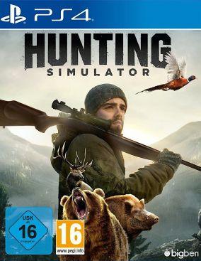 Copertina del gioco Hunting Simulator per PlayStation 4