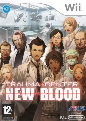 Immagine della copertina del gioco Trauma Center: New Blood per Nintendo Wii