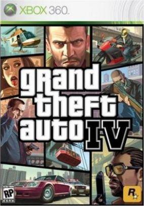 Copertina del gioco Grand Theft Auto IV - GTA 4 per Xbox 360