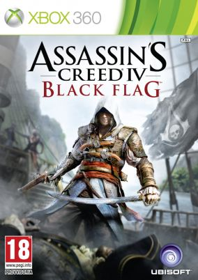 Copertina del gioco Assassin's Creed IV Black Flag per Xbox 360