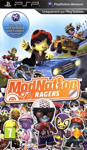 Immagine della copertina del gioco ModNation Racers   per PlayStation PSP