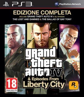 Immagine della copertina del gioco Grand Theft Auto IV: Edizione Completa per PlayStation 3