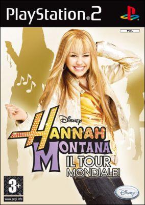 Copertina del gioco Hannah Montana: Il Tour Mondiale per PlayStation 2