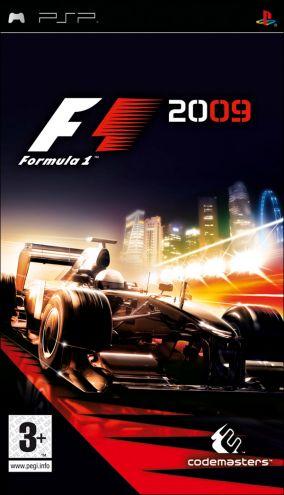 Immagine della copertina del gioco F1 2009 per PlayStation PSP