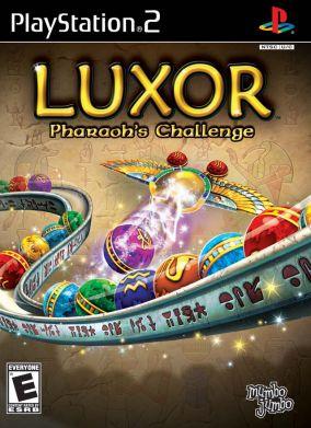 Copertina del gioco Luxor: Pharaoh's Challenge per PlayStation 2