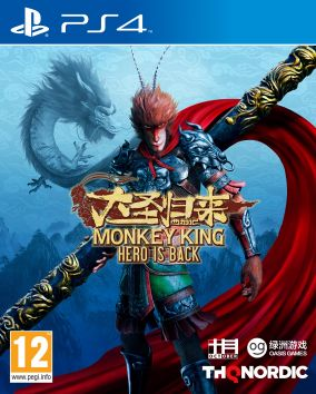 Copertina del gioco Monkey King: Hero is Back per PlayStation 4