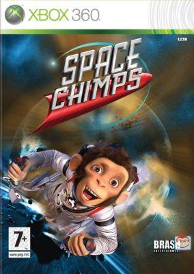 Copertina del gioco Space Chimps: Scimmie nello Spazio per Xbox 360
