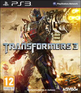 Immagine della copertina del gioco Transformers: Dark of the Moon per PlayStation 3
