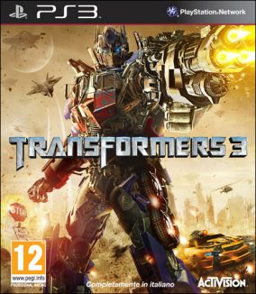Copertina del gioco Transformers: Dark of the Moon per PlayStation 3