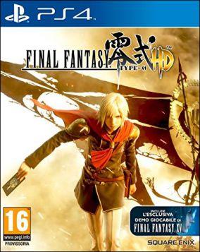 Immagine della copertina del gioco Final Fantasy Type-0 HD per PlayStation 4