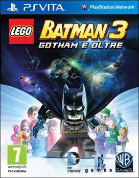 Immagine della copertina del gioco LEGO Batman 3: Gotham e Oltre per PSVITA