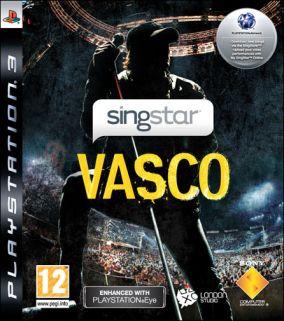 Immagine della copertina del gioco SingStar Vasco per PlayStation 3
