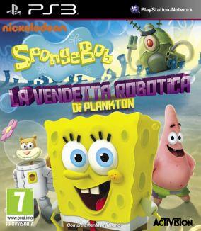 Immagine della copertina del gioco SpongeBob SquarePants: La Vendetta Robotica di Plankton per PlayStation 3